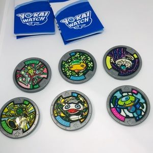 Yo-Kai Watch Licensed Official Medals Medallions